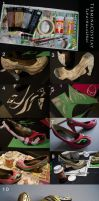 Shoe Altering Tutorial - Craft Foam by TerminaCosplay