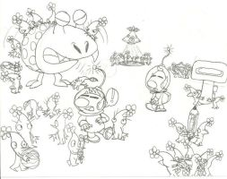 Pikmin 2 Challenge Mode by CharlesBulbmin