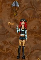 Dusty - Steampunk design by LindyArt