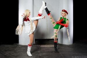 Lili VS Cammy by ivettepuig