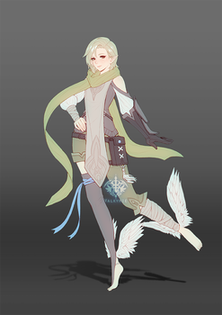 [C] Test-flight Character Design by Valkymie