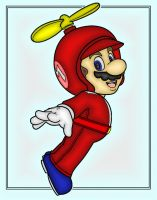 Propeller Mario by dylrocks95