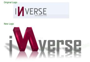 Inverse Interactive Logo by datamouse