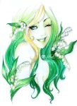 - Emerald Sun with Lilies of the Valley - by ooneithoo