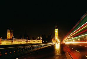 Westminster Bridge Long Exposure by ocelotrevs