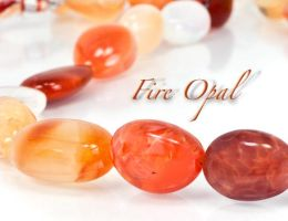 Mexican Fire Opal by BeadsofCambay