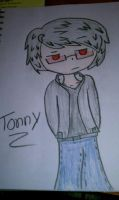 so some doodles made a re-design for tony )) by askhumanTony