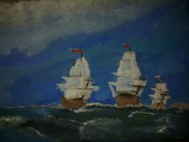 The Polski ships by smallblackbook