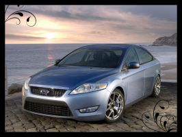 Ford Mondeo Sunset by pacee