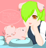 Castello - Verano's Nephew Loves Pigs by fushigi-no-kuni-oujo