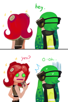 Octoling eyes by carrotsnake