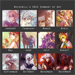 Art Summary 2014 by whispwill