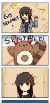 Pkmn: Go Sentret by DrawKill