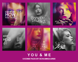 Icon Pack 1 - You & Me by xChasingCarsx