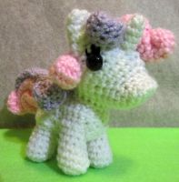Chibi Sweetie Belle by NerdyKnitterDesigns