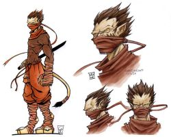 Ninja-hybrid by Morbidmic