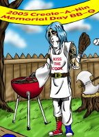 ninja BBQ by RiffThirteen