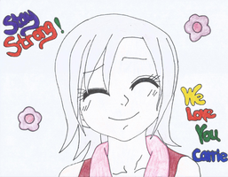 Lisanna- WE LOVE YOU CARRIE! by KrazyKat22