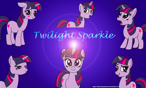 Twilight Sparkle Wallpaper by AleximusPrime