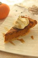 Butternut Pumpkin Pie by cakecrumbs