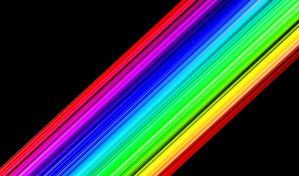 Rainbow Lines background by noema-13