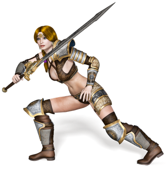 Female 03 PNG Stock by Roy3D