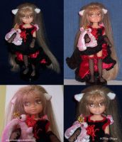 Chobits Doll and Atashi Plush Handmade Custom OOAK by TorresDesigns