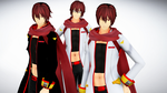 [MMD DL] pLaY pRojecT AKAITO -Two versions- by amiamy111