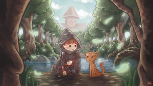 Commission - Thief From a Swamp Land by Kelsa20