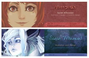 Business Cards by MissPinks