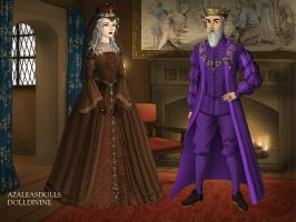 Ghosts King and Queen of Romania. by pispispis