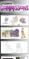 Commision Info + chance to win free art! by LordSameth