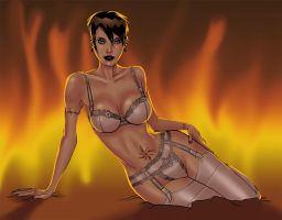 Lila is Hot by The-Mirrorball-Man