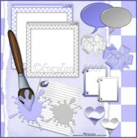 PSP Themed Scrap Kit by EveyLou