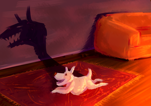 By The Fire by StormWhiskers