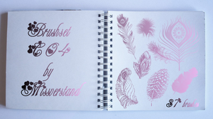 Brushset C04, Feathers by Missverstand