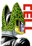 Perfect Cell Smirk by gokujr96