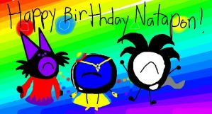 Happy Birthday Natapon!(Me! :D) by Uxie126