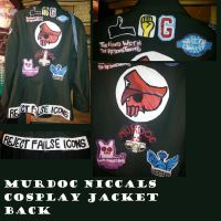 Murdoc Cosplay Jacket - BACK ~Old~ by EyonSplicer