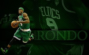 Rajon Rondo Wallpaper by rhurst