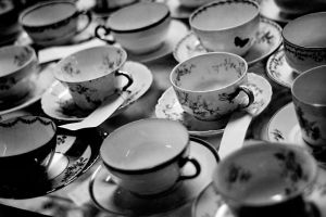 Teacups by Asherphotog