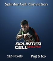 Splinter Cell Conviction Icon by JRT25