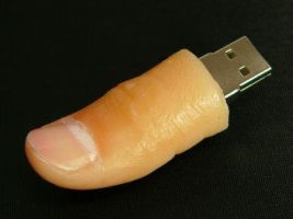 Finger USB by Hashikto