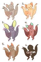 SlothBats Minies 1 {CLOSED} by Kiwi-adopts