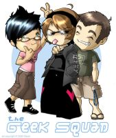 The Geek Squad by yamer