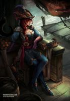 Captain Fortune by MarianaEnnes