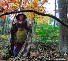 Autumn Witch 37 by MorganCrone