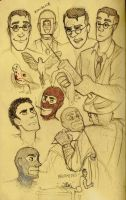 TF2 sketches 4-19 by Amessicle
