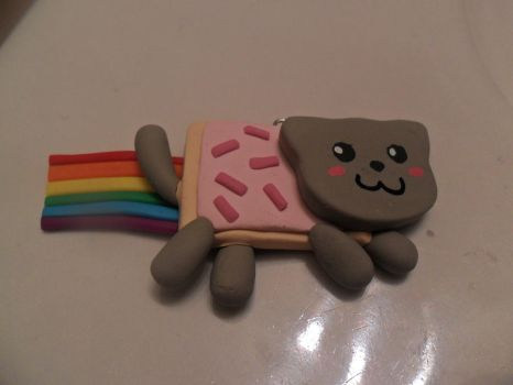Nyan Cat Charm by cobalt-bow