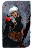 Hawke Tarot Card MP Edition by AlexielApril
